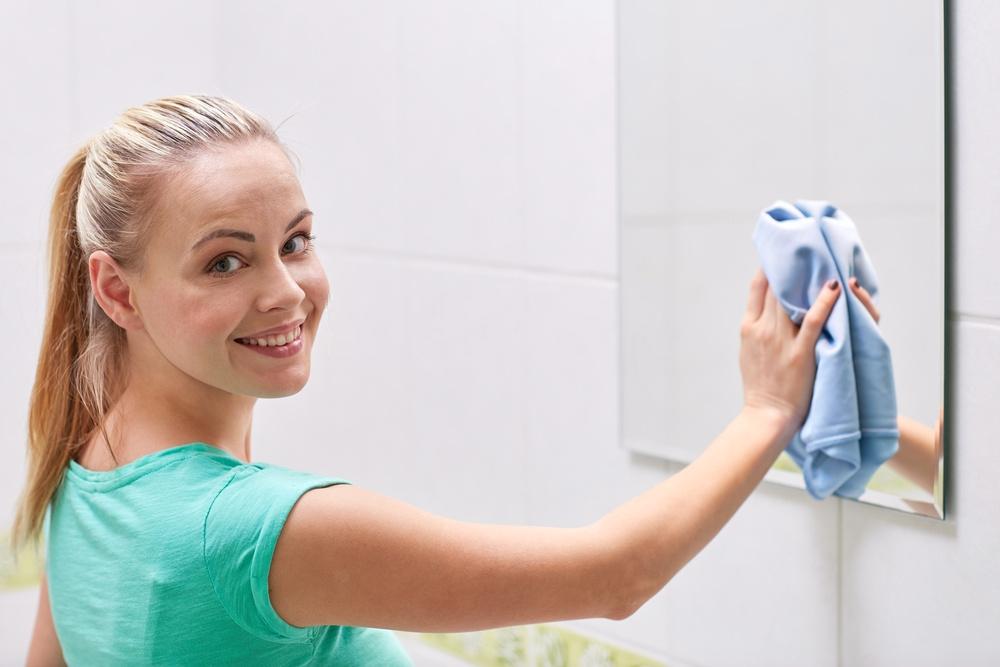 Công việc hàng ngày nhỏ và đơn giản để giữ cho phòng tắm của bạn sạch sẽ