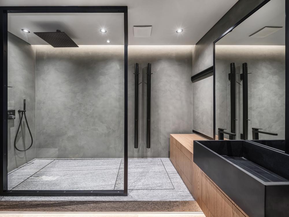 Lối đi nào nên mở phòng tắm?